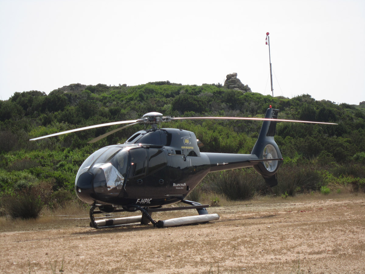 Elicottero Privato : Come arrivare all isola di cavallo